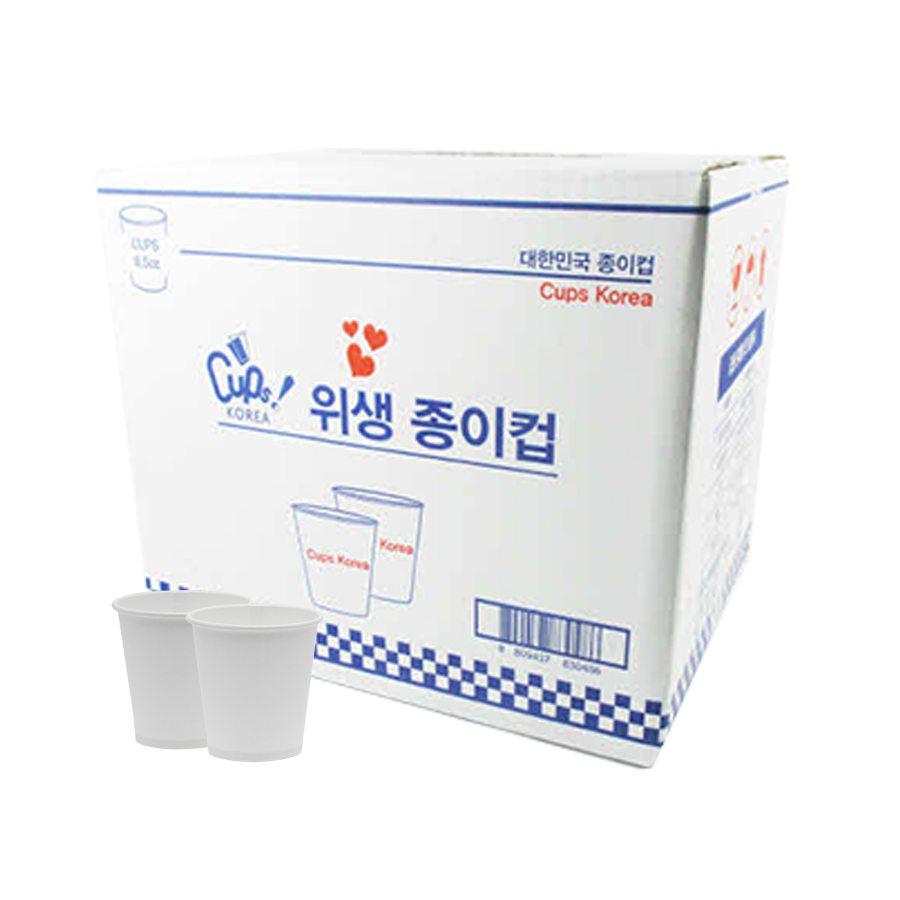 [컵스코리아] 종이컵 1000매